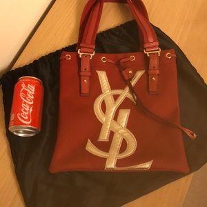 ❤️Authentic Yves Saint Laurent Canvas handbag.